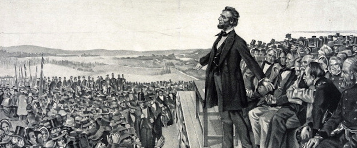 lincoln s gettysburg address Selected readings in anglo-american literature lincoln's gettysburg address 1863 (on nov 19, 1863, a part of the battlefield of gettysburg was set aside as a.