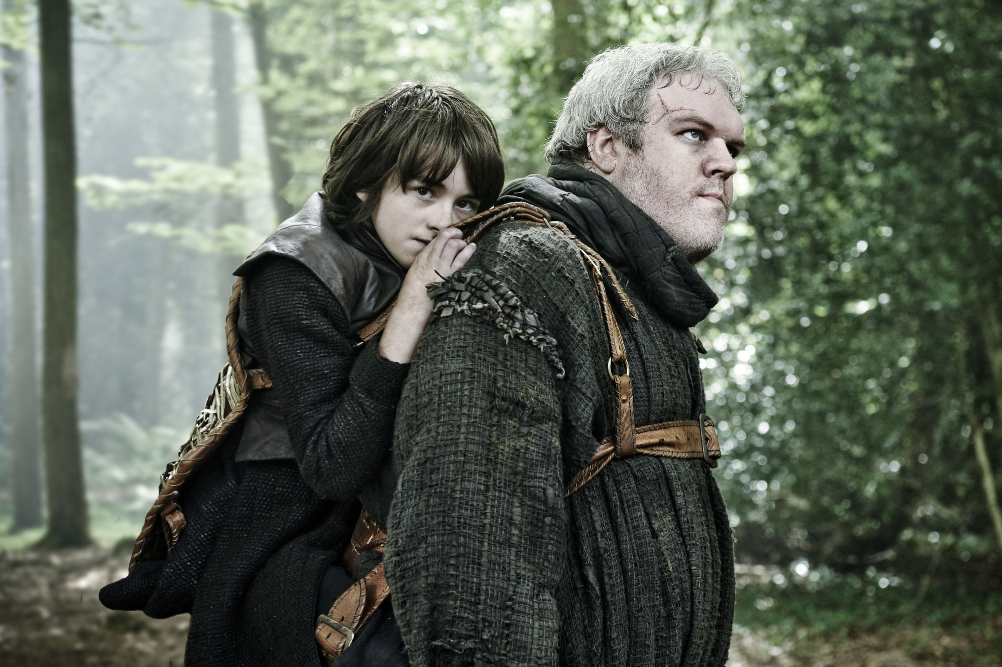 That major Hodor reveal came from George RR Martin