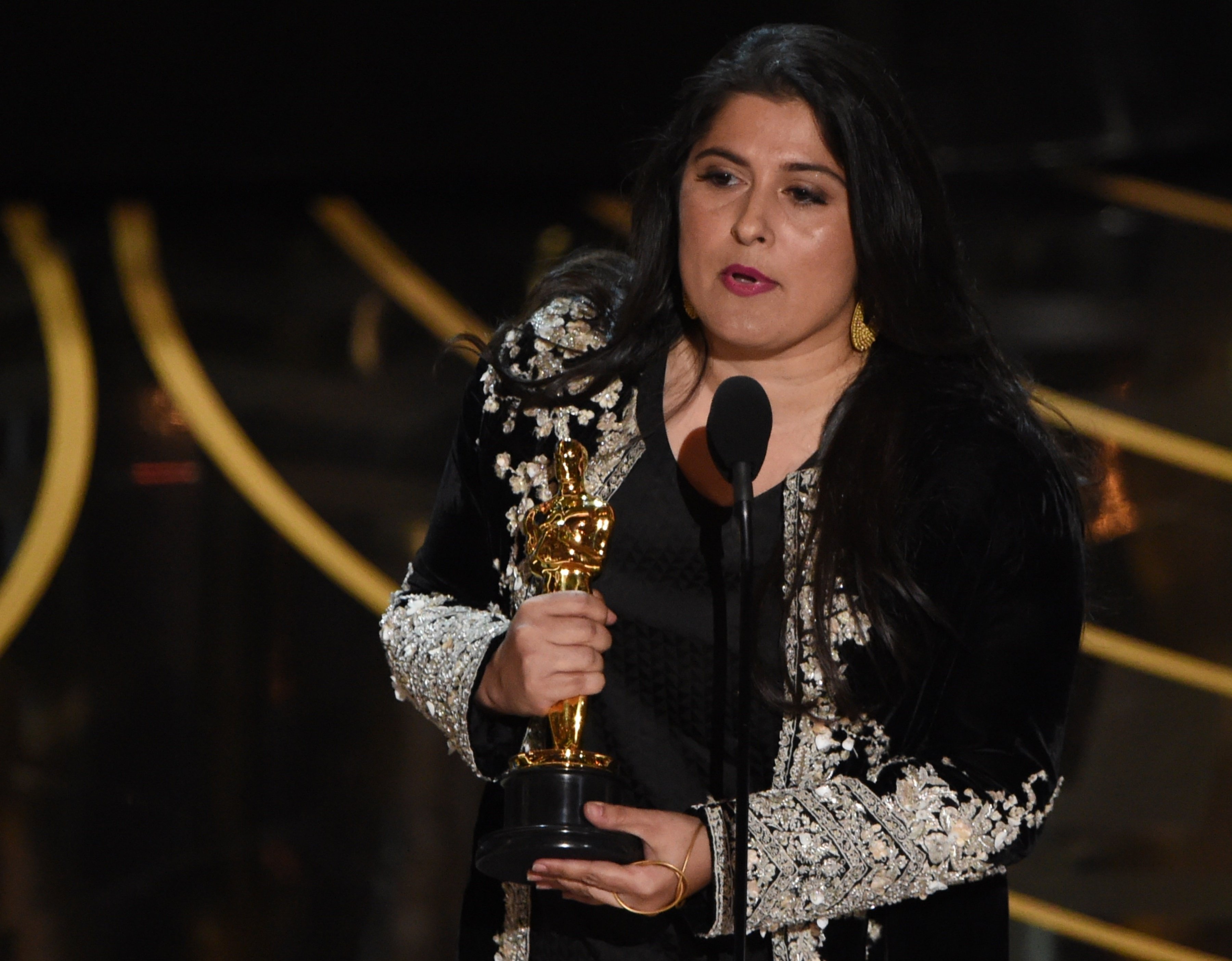 Oscars 2016: Lady Gaga stands against sexual assault in performance