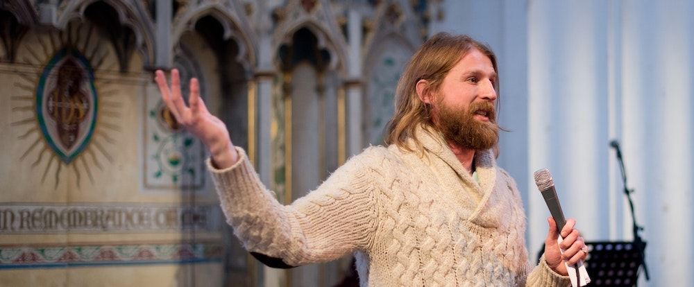 Hipster Jesus Is Coming to an Atheist Church Near You