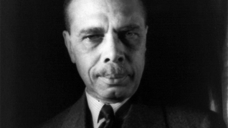 NAACP head James Weldon Johnson.