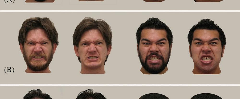 psychologists bearded men look older more aggressive