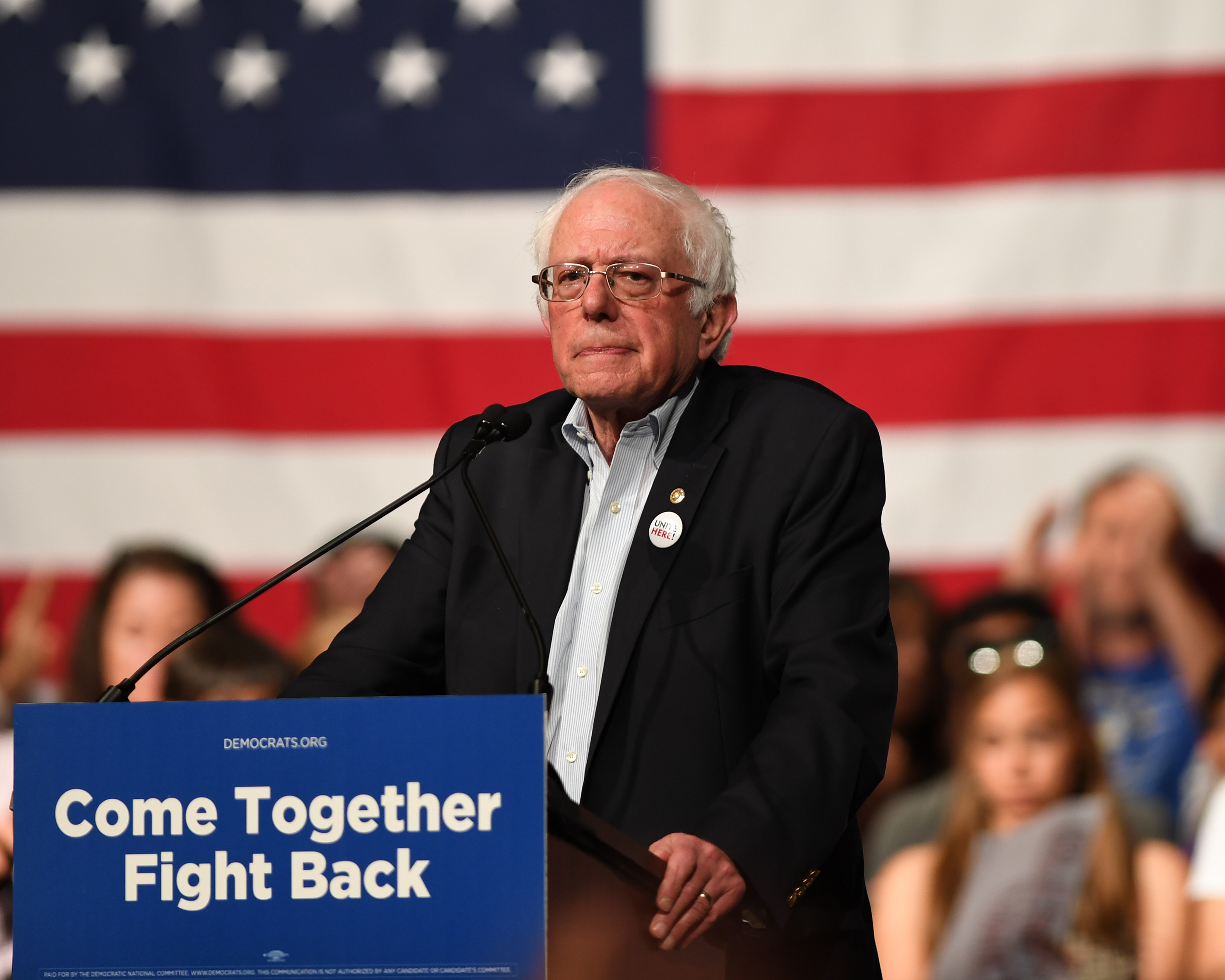 Democratic 'Unity Tour' Has a Rough First Stop