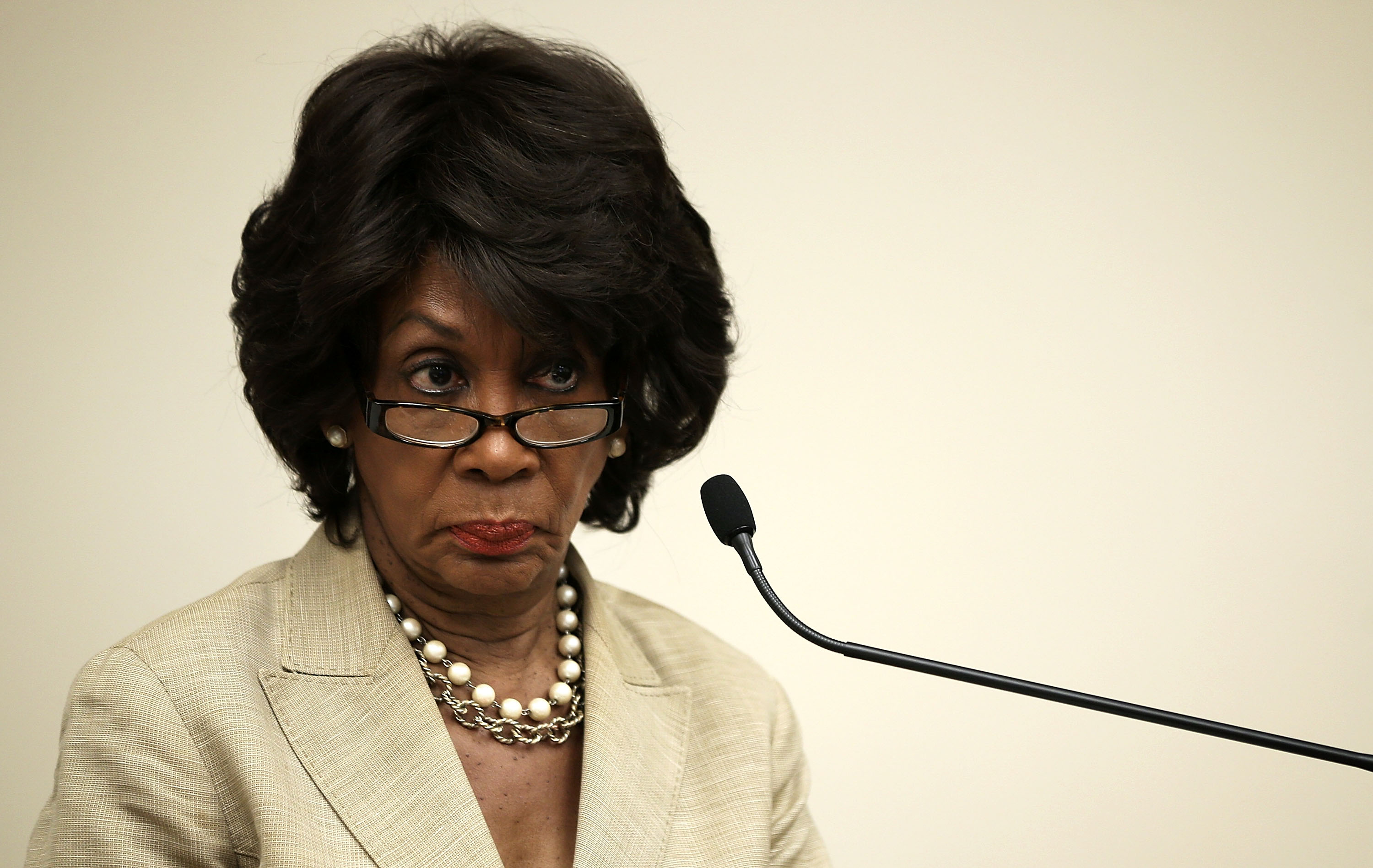 Maxine Waters Fires Back at Bill O'Reilly: 'I Cannot Be Intimidated'
