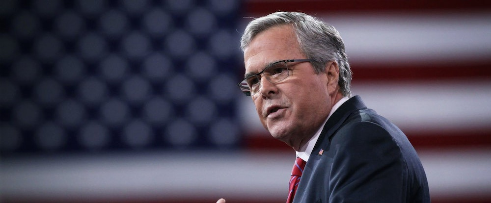 Jeb Bush Needs More Evidence for Climate Change Action Than He Does to Start a War