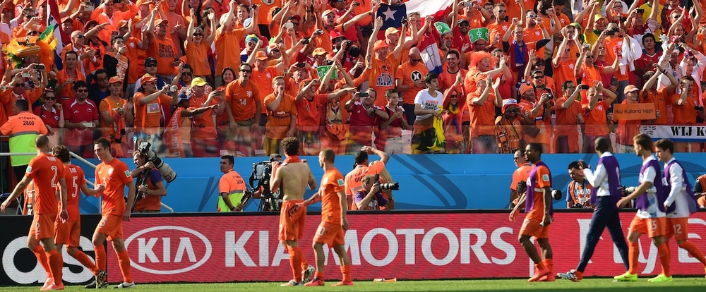 Hubris, Total Football, and the Ethics of Diving: David Winner on the Dutch Team's Chances