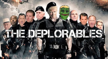 Trump's own deplorable team