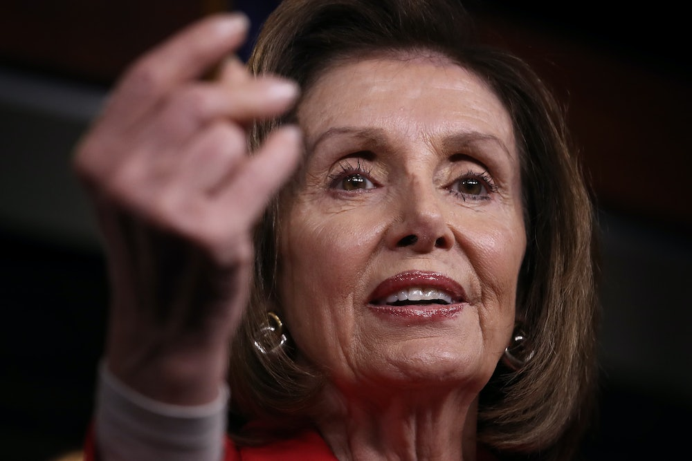 Nancy Pelosi Has Power—She Just Doesn't Want to Use It