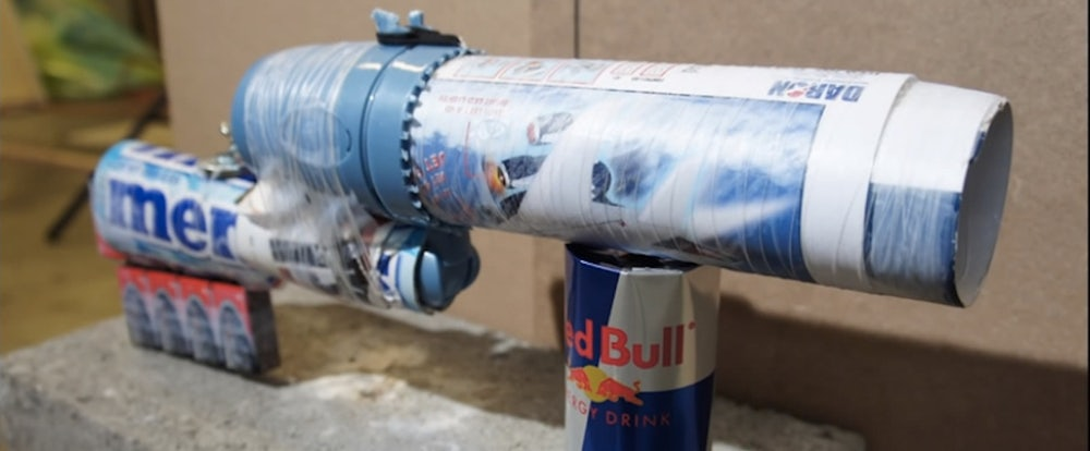 This Man Made a Gun with Stuff You Can Buy at the Airport