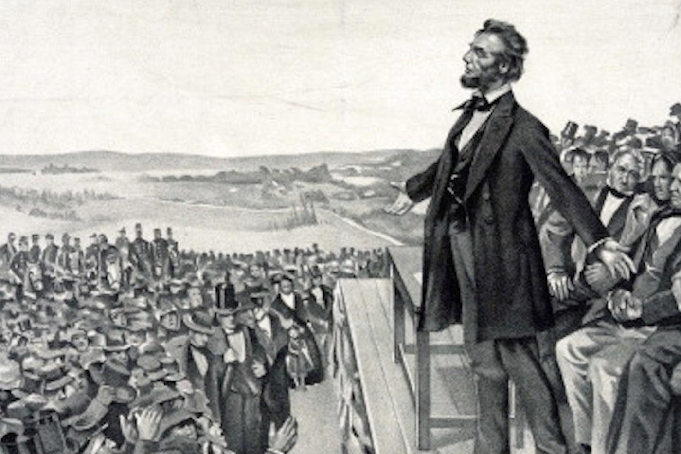 Gettysburg Addres 150th Anniversary Sean Wilentz On Abraham Lincoln The New Republic Paraphrased Sentences