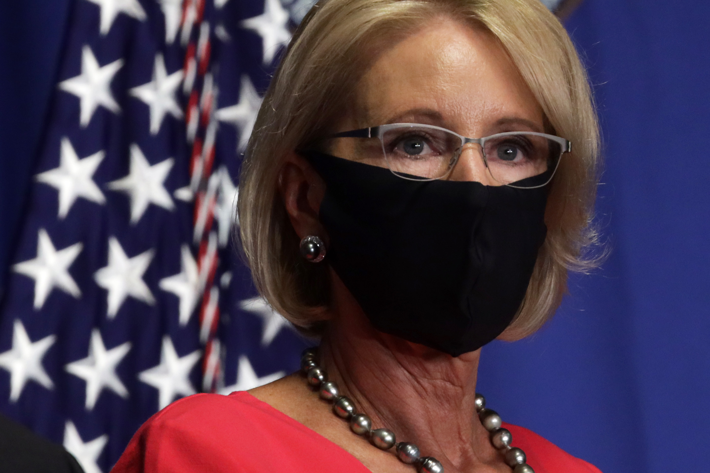 Betsy DeVos's Plot to Enrich Private Schools Amid the Pandemic thumbnail