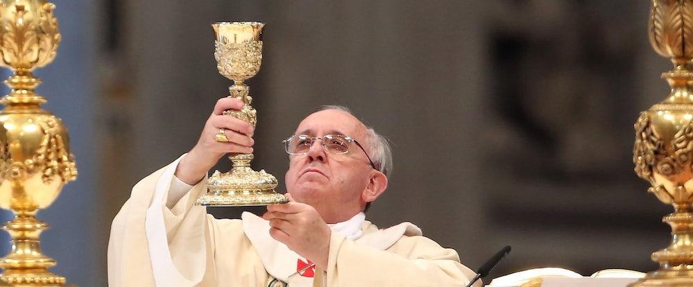 Resultado de imagem para pope francis satan