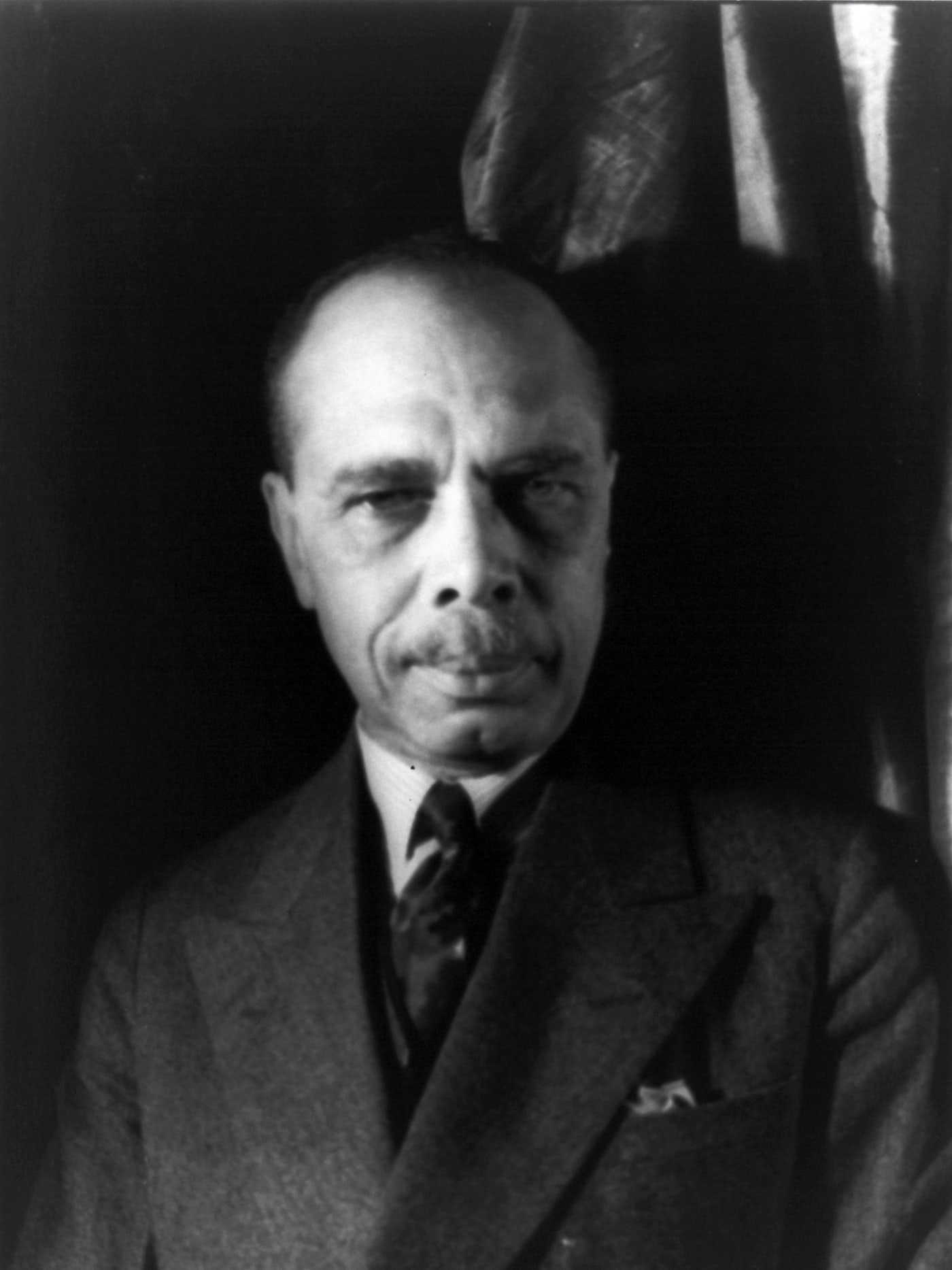 NAACP head James Weldon Johnson.