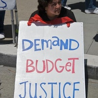 State and local budget cuts have spawned protests around the country--flickr.com