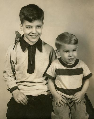 Ted and David Kaczynski in 1952. Photo: David Kaczynski