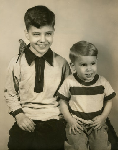 Ted and David Kaczynski in 1952. Photo: David Kaczynski