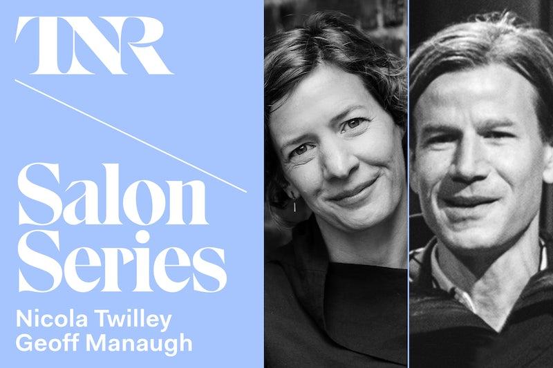 TNR Salon Series With Nicola Twilley and Geoff Manaugh