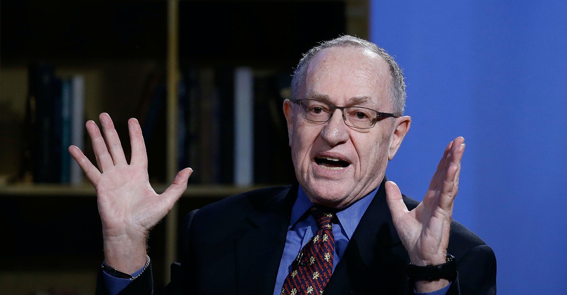 What Happened to Alan Dershowitz? | The New Republic