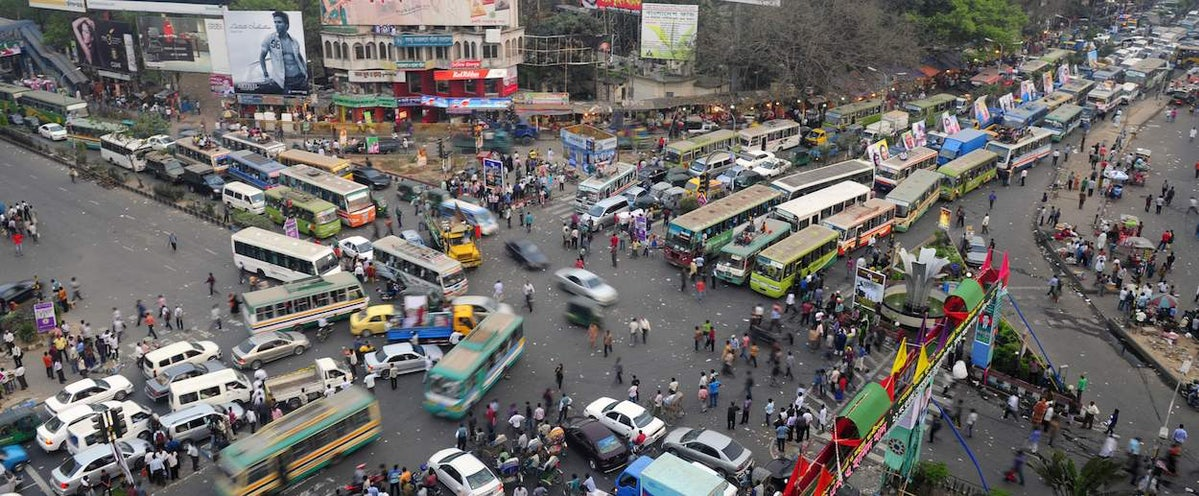 What Dhaka, Bangladesh, the Traffic Capital of the World