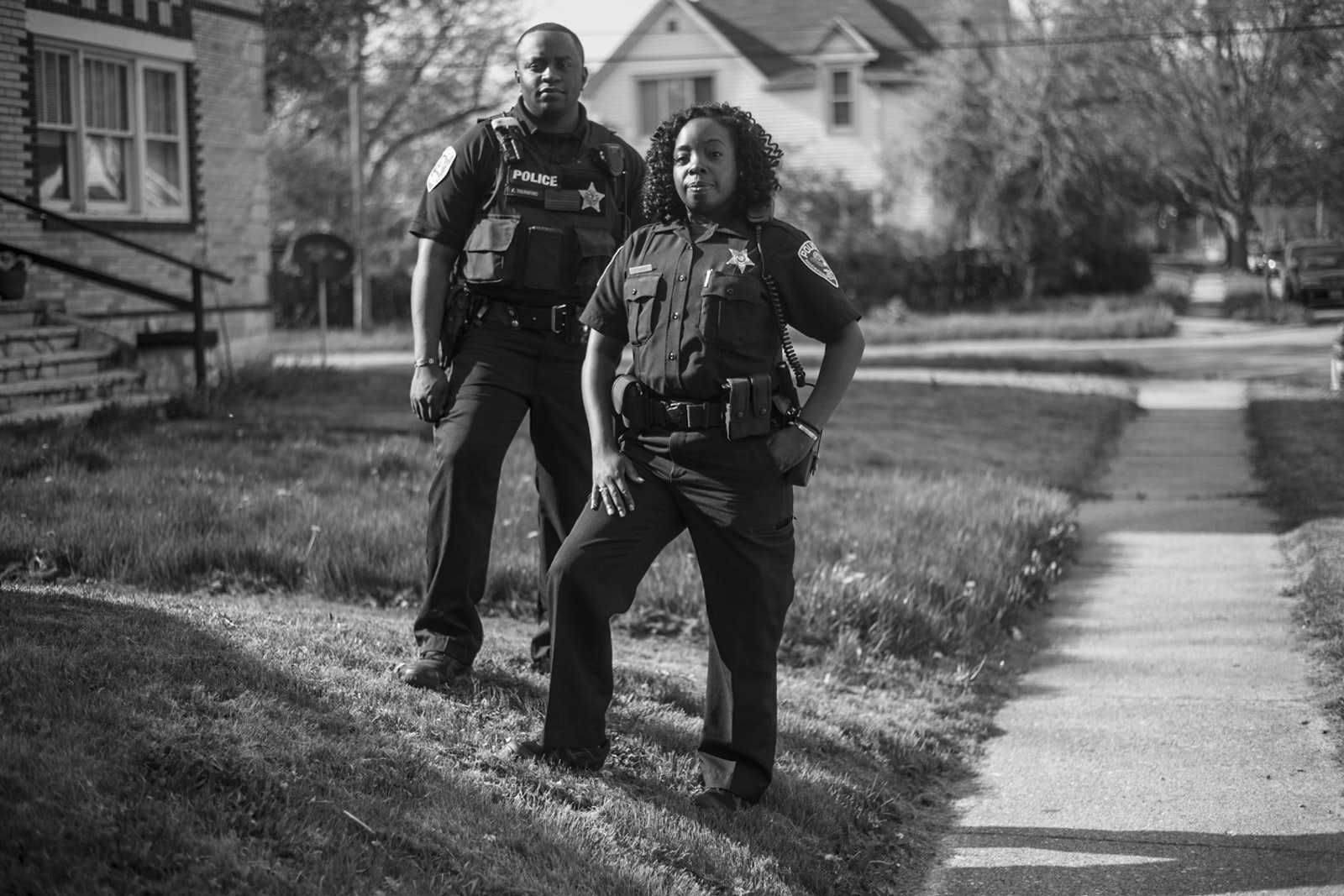 5aaab826f Eric Thurmond and Patrice Turner are Resident Officer Community Keepers, or  ROCK cops, in Rockford, Illinois, a small city near Chicago.
