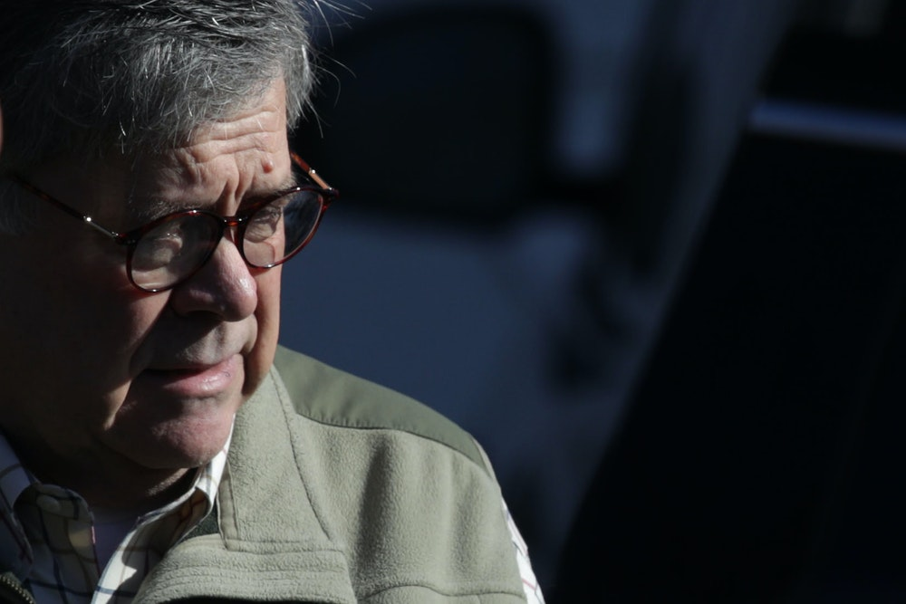 Yes, Trump Obstructed Justice. And William Barr Is Helping Him Cover It Up.