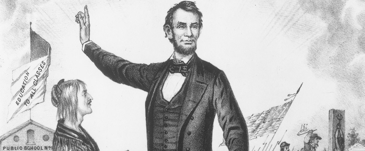 Abe lincoln having sex with slaves