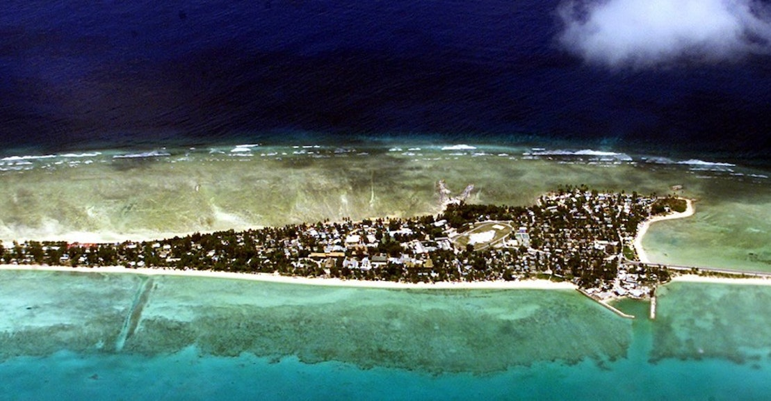 Climate Change Sinking Pacific Islands Should U S Take