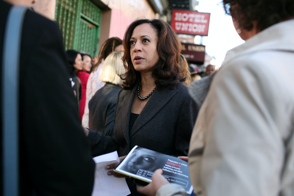 Kamala Harris Gets Slightly Less Tough on Crime