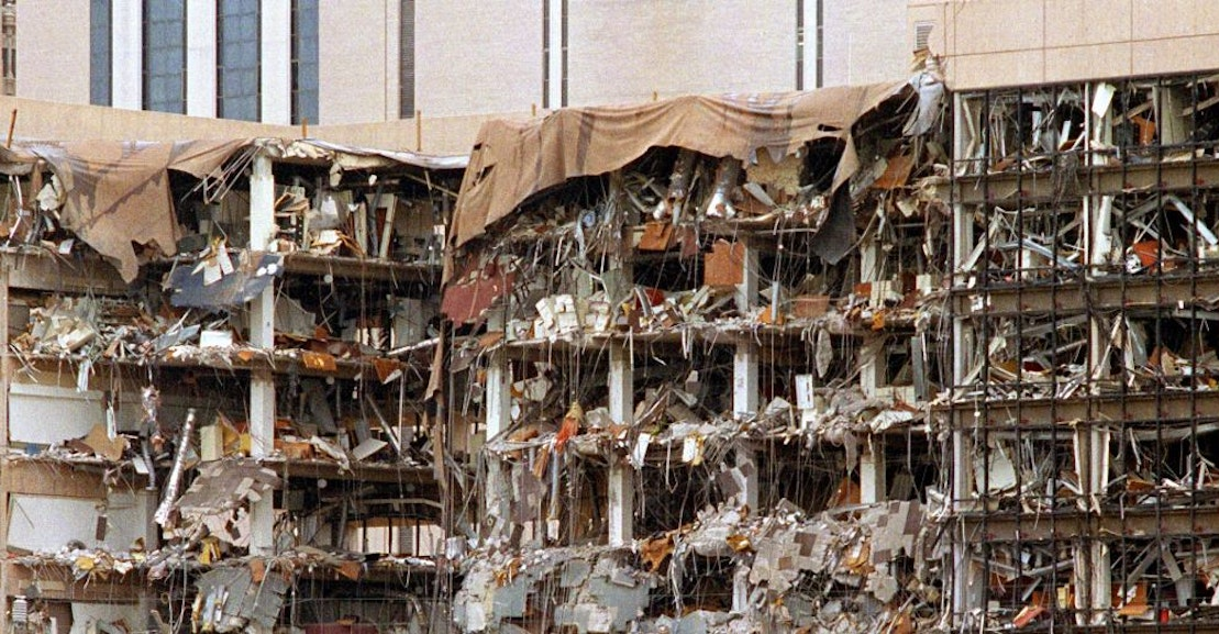 a critique of the handling of the oklahoma city bombing Review: 'oklahoma city' recalls a chilling but by situating the 1995 bombing of the alfred p murrah federal building in the decades-spanning.