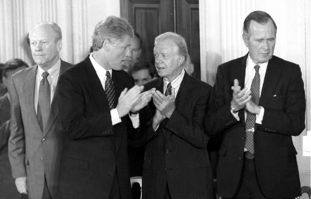 Nice Jimmy Carter Dislikes Donald Trump Even More Than He Dislikes Bill Clinton.  | The New Republic
