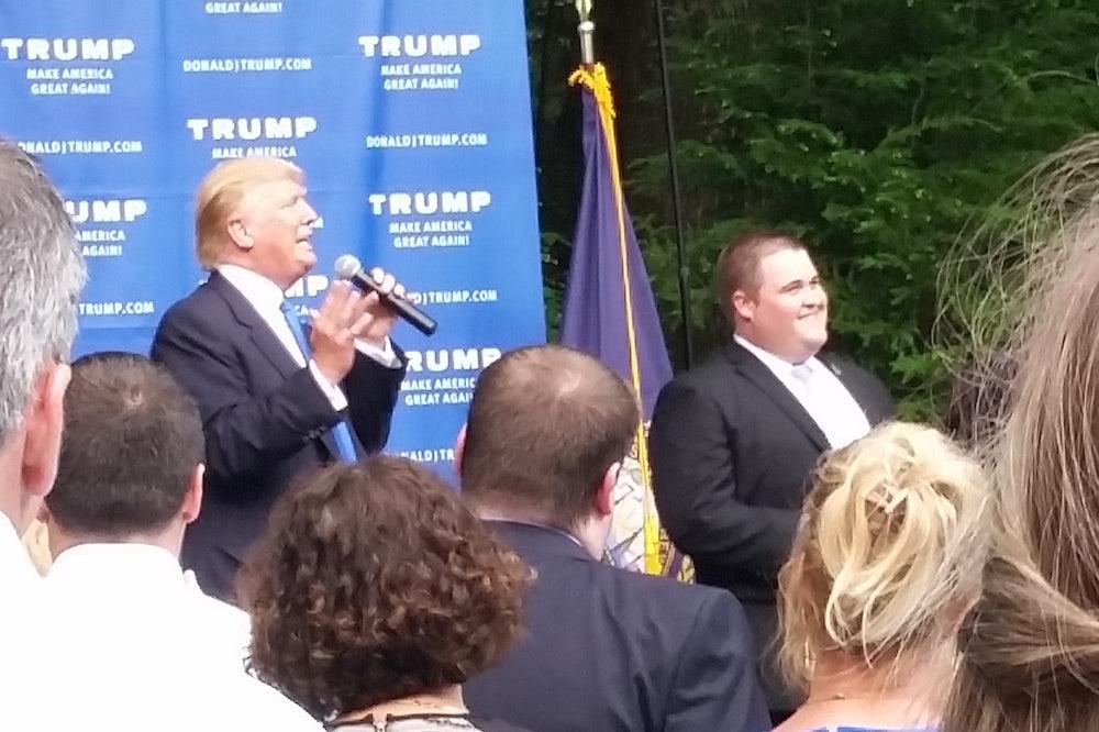 Trump and Van Anglen