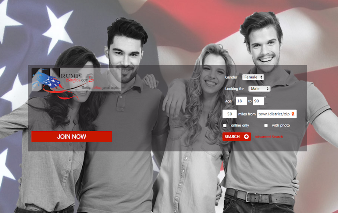 A dating site for trump supporters in Brisbane