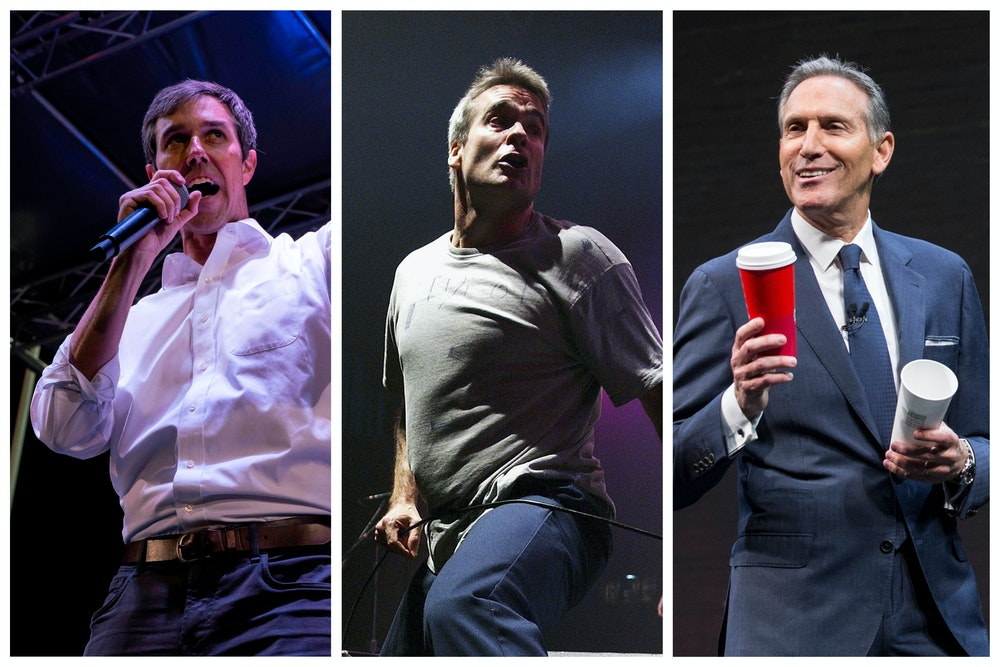 Who Said It: Beto O'Rourke, Howard Schultz, or a Punk Rock Band?