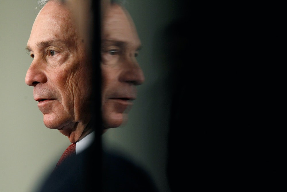 Why Wouldn't Michael Bloomberg Run for President?