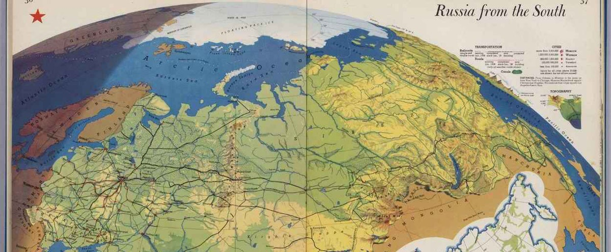 How Did The World Map Change After Wwii.Richard Edes Harrison Reinvented Mapmaking For World War 2 Americans