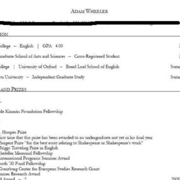 adam wheeler s resume the new republic