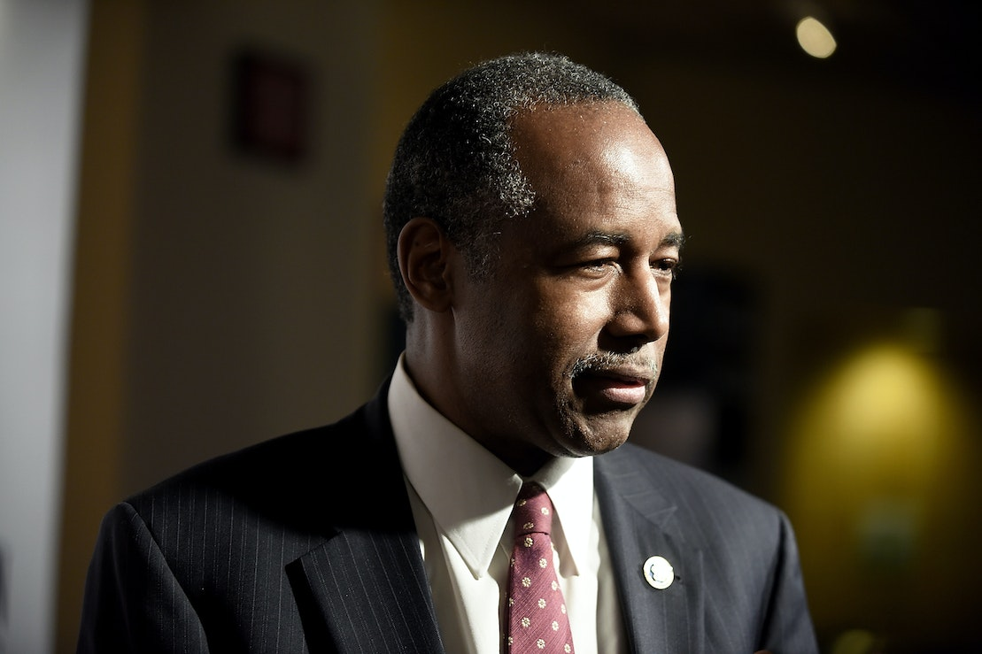 The free-market fallacy behind Ben Carson's anti-desegregation policy.
