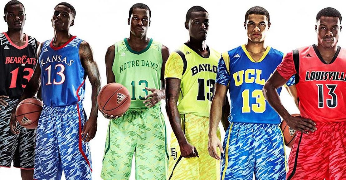 e8166c61519e New Basketball Uniforms Have Sleeves