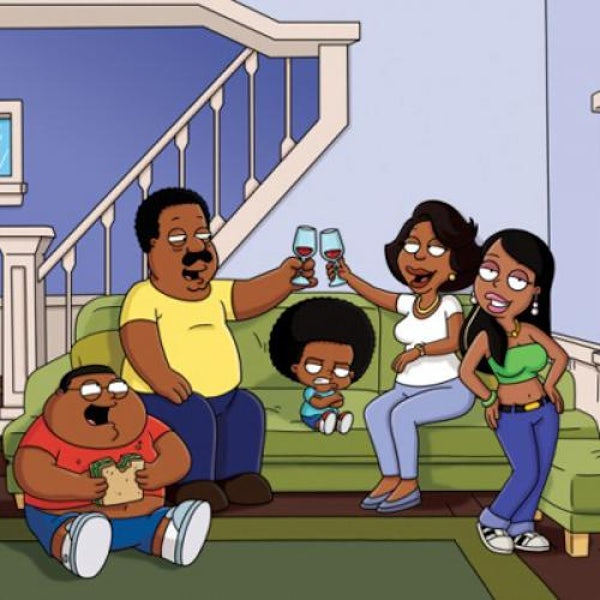 just a cartoon but still is family guy in blackface funny the