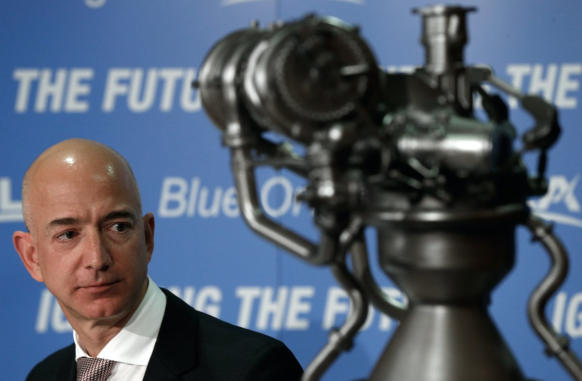 For Jeff Bezos Space Is The Place The New Republic