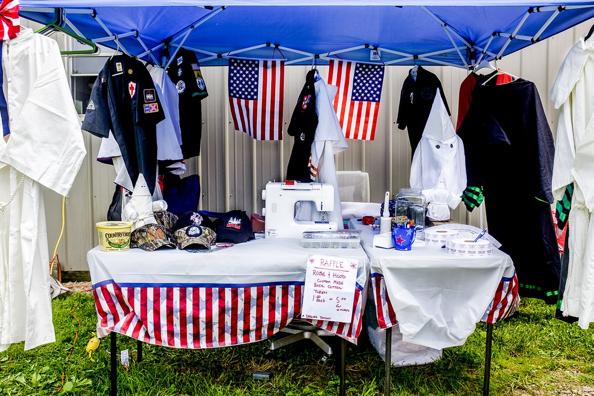 hate in the age of trump a photo essay new republic a klan rally near versailles na last spring included a raffle for a ldquocustom maderdquo robe and hood although the klan remains small fewer than