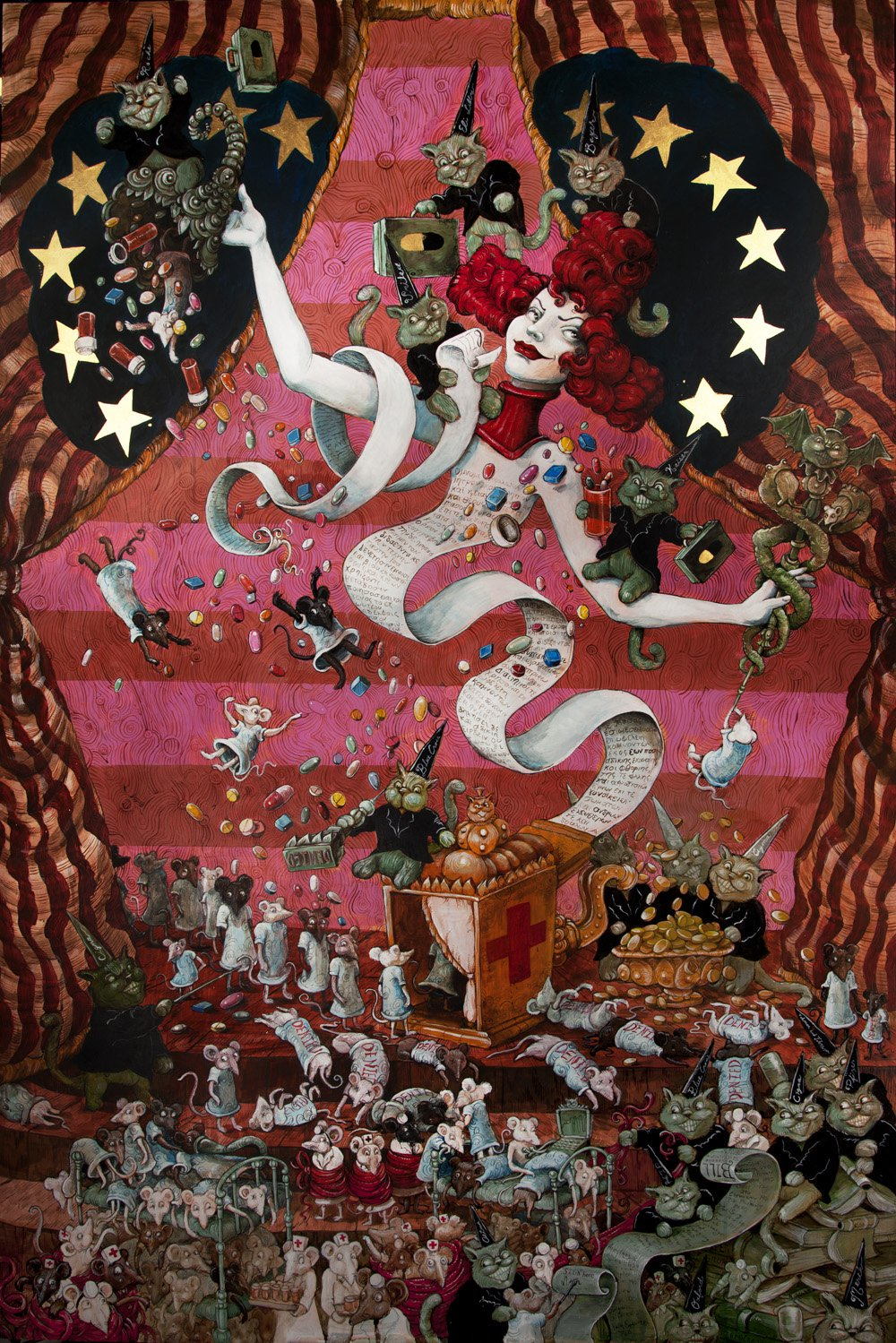 Molly Crabapple And Occupy Wall Street Protest Art The