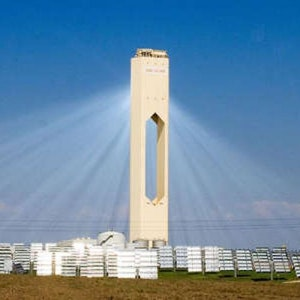 Sapnish solar power tower