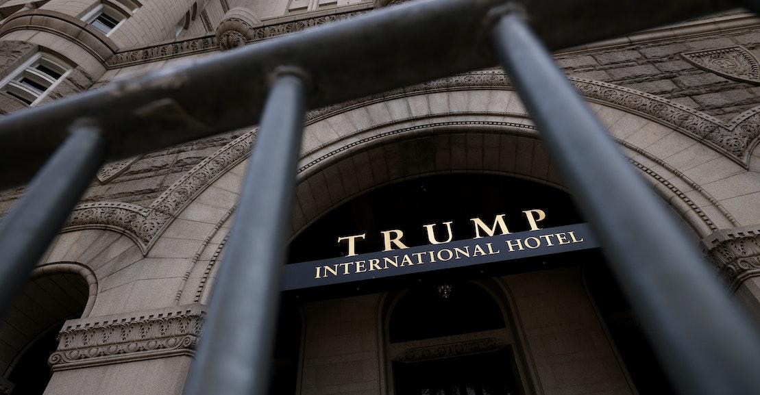 In Memoriam: Hotel Scammy Washington Donald Trump