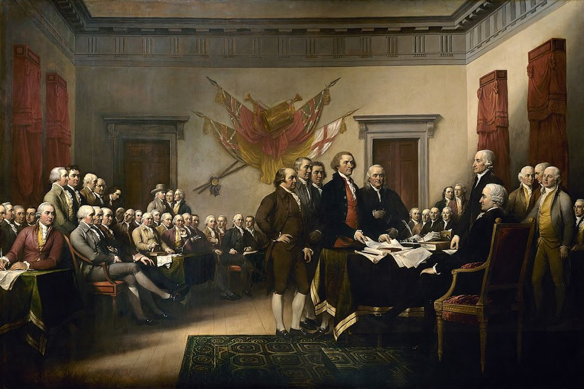 The Founding Fathers' Power Grab | The New Republic