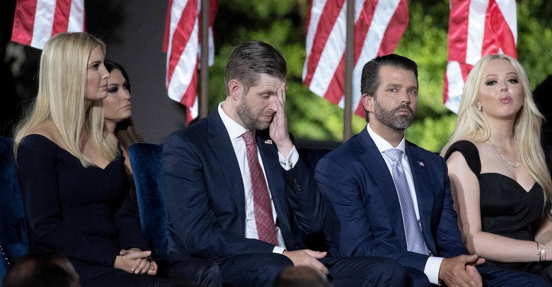 Farewell to Trump's Baby Sociopaths