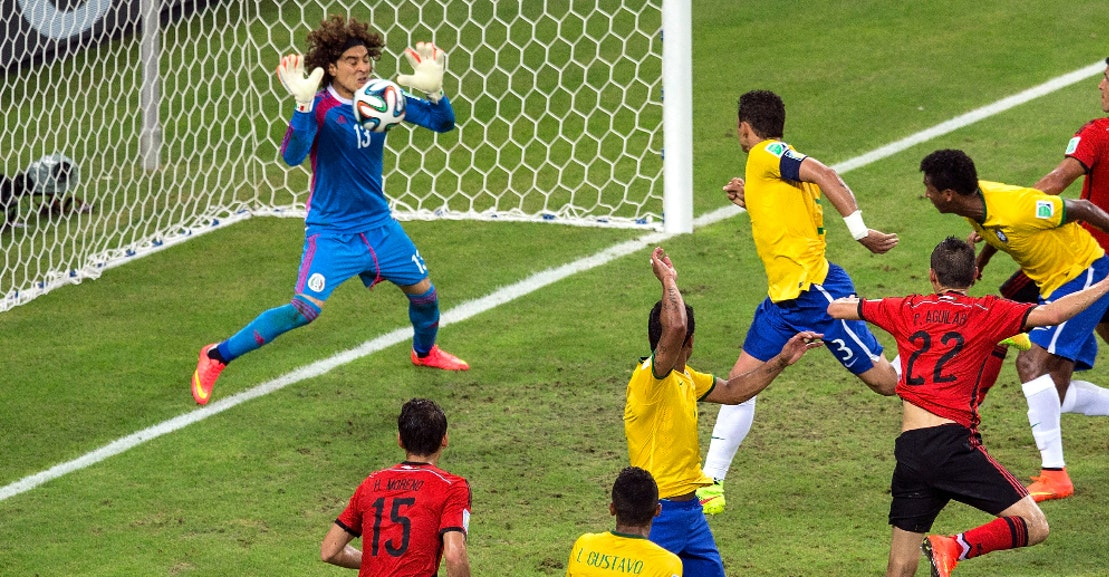 Guillermo Ochoa's Spectacular Saves, In GIFs