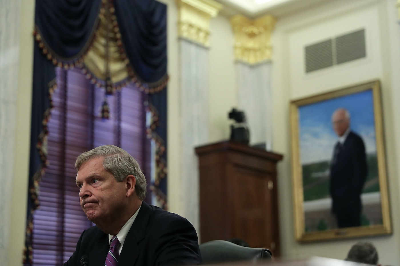 Tom Vilsack testifies during a hearing in 2016.