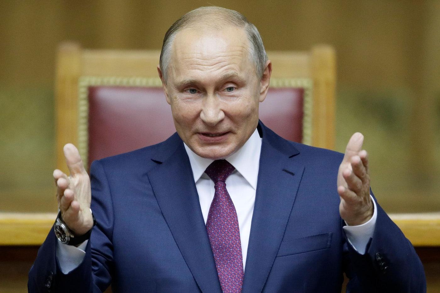 Putin Is Perfecting His Authoritarian Model The New Republic