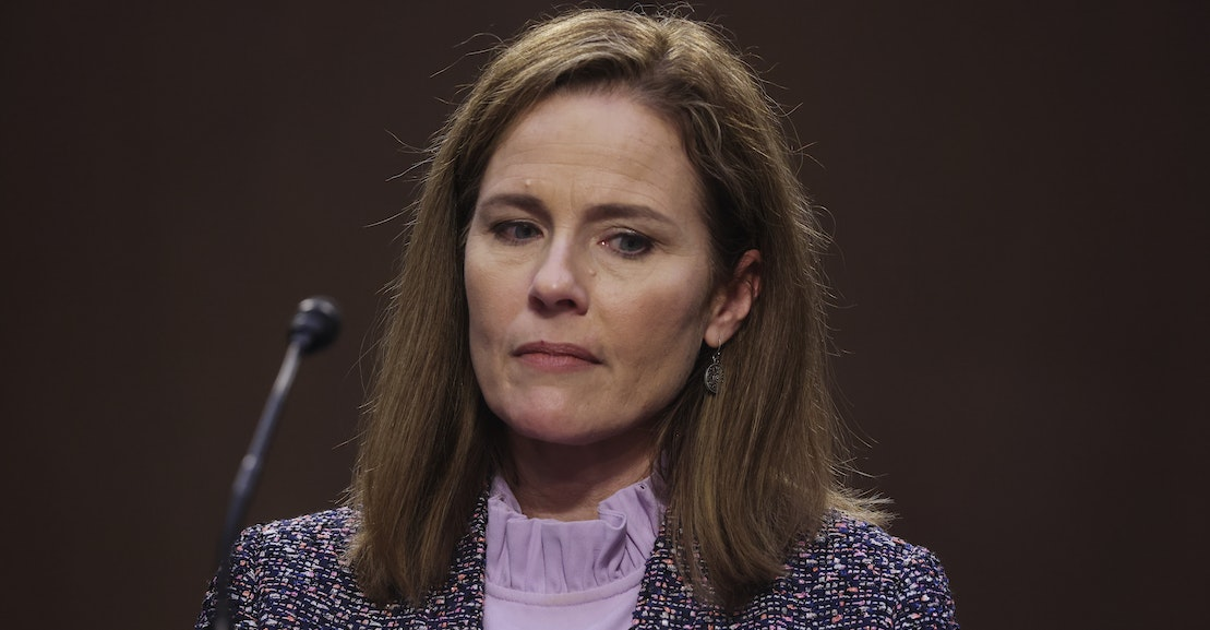 Amy Coney Barrett Will Upend American Life as We Know It